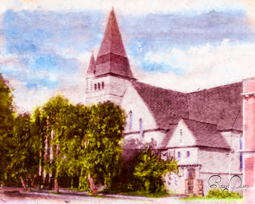 Bartleman's Church Painting