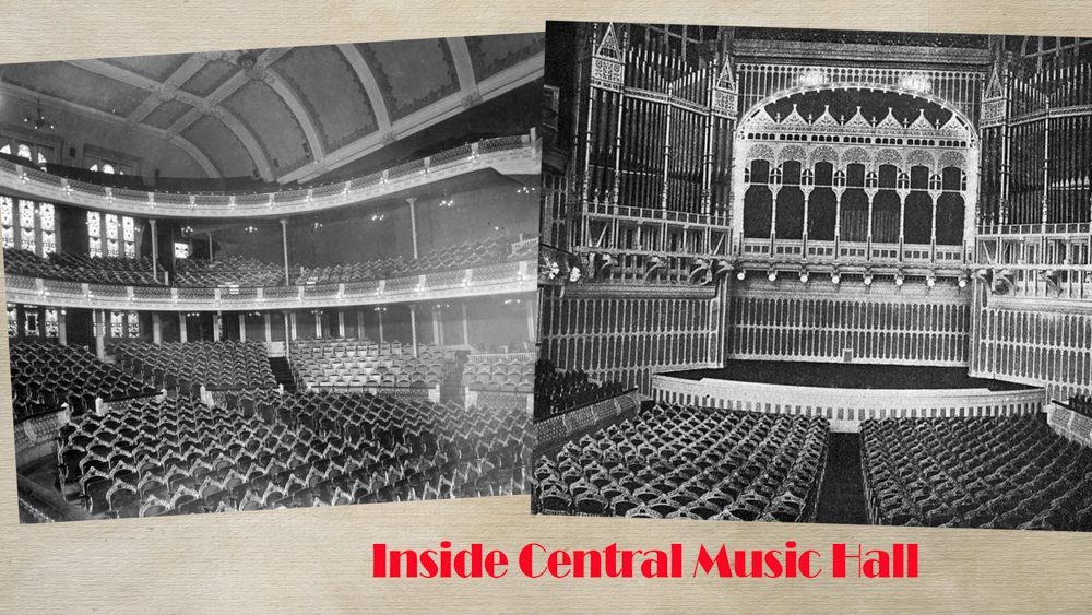 Inside Central Music Hall
