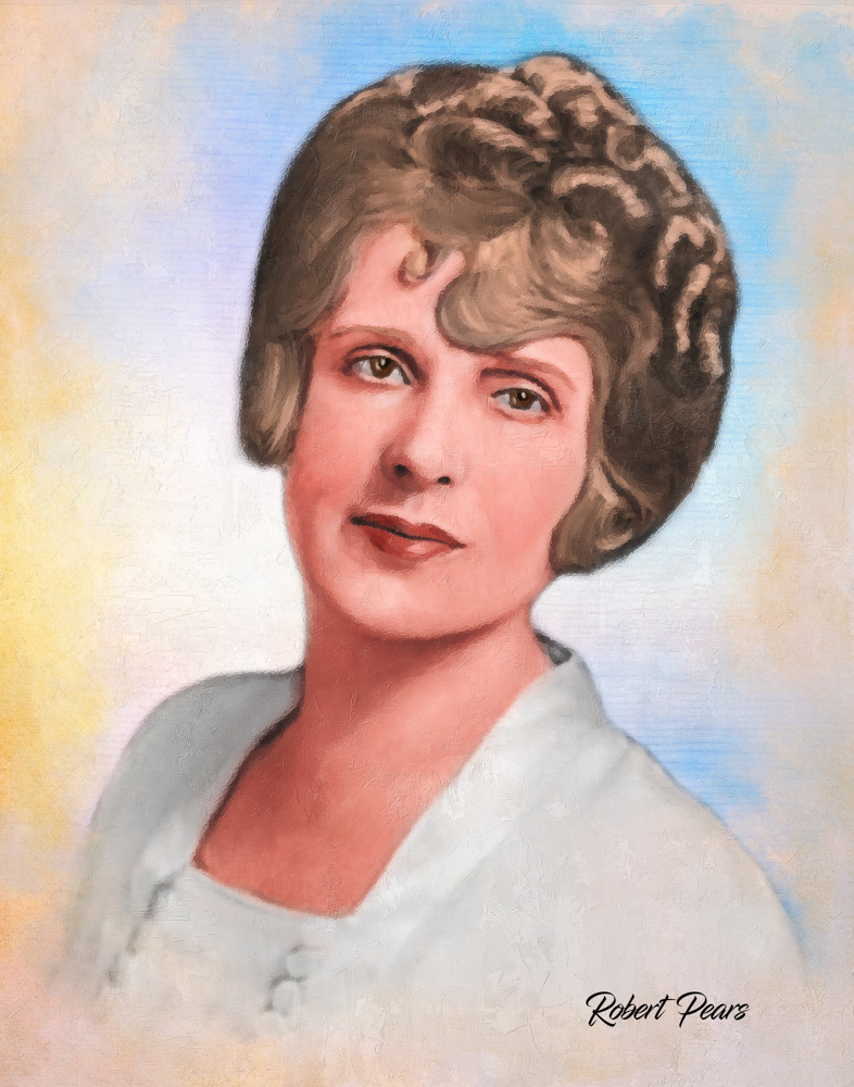 Aimee Semple McPherson Painting