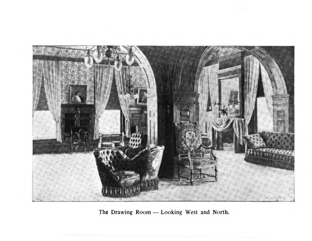 Drawing Room in Dowie's Michigan Ave HQ