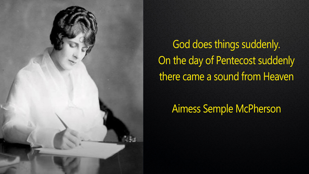 Aimee Semple McPerson Quote
